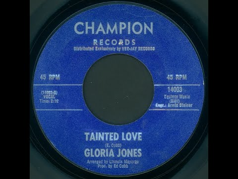 Gloria Jones Tainted Love Original 1964